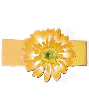 Z: Yellow Daisy Headband
