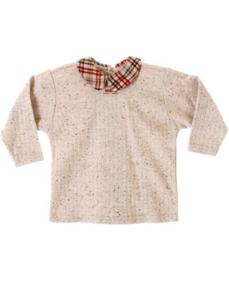 : Klim Baby's L/S Plaid Collar Shirt