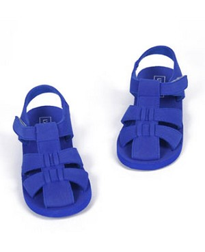 OS: L'Amour Royal Blue Foam Sandal