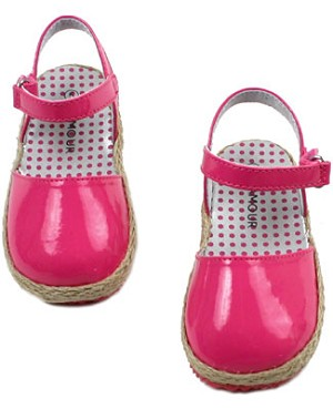 OS: L'Amour *Patent Fuchsia* Sandals