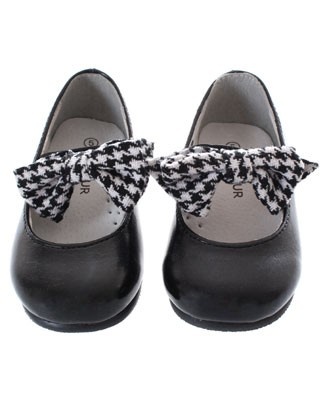 OS: L'Amour Black Mary Jane Shoe With Bow
