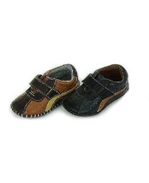 Z: L'Amour BROWN Baby Tennis Shoes w/ Velcro