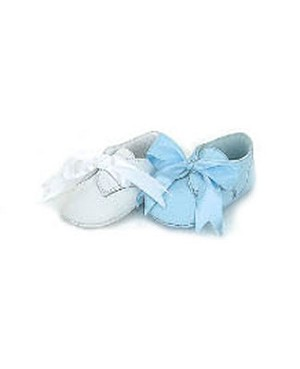 Z: L'Amour BLUE Ribbon Baby Shoes
