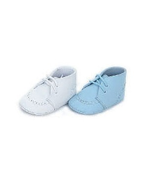 Z: L'Amour BLUE Lace-Up Pre Walk Baby Shoes