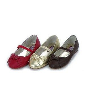 Z: L'Amour RED Ballerina Shoes w/ Bows