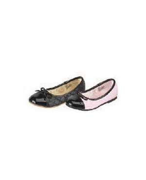 Z: L'Amour PINK/BLACK Quilted Slip On Shoes