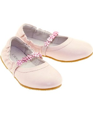 Z: L'Amour PINK Slip On Shoes with Beaded Strap