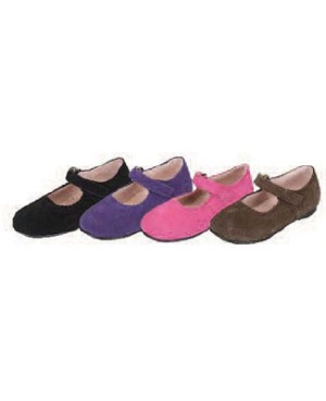 Z: L'Amour PURPLE Plain Mary Janes