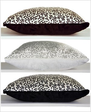 Z: Little Giraffe Luxe Confetti Satin Throw Pillow *More Colors!*