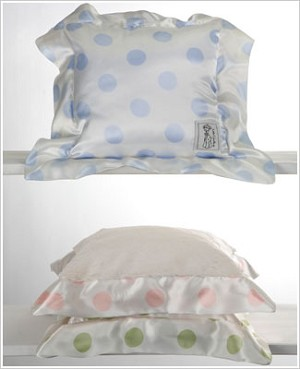 Z: Little Giraffe Luxe Cream Dot Pillow *More Colors!*