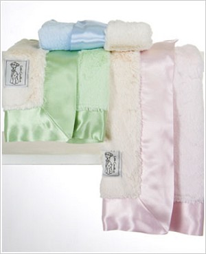 Z: Little Giraffe Luxe Duo Blanky *More Colors!*