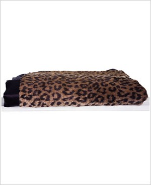 Z: Little Giraffe Luxe Leopard Throw