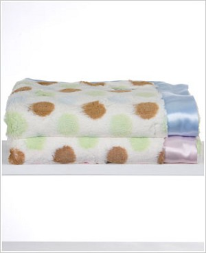 Z: Little Giraffe Luxe Spotted Blanket *More Colors!*