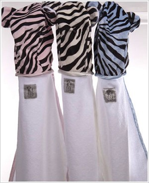Z: Little Giraffe Safari Zebra Towel *More Colors!*