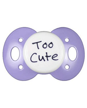 II: Lots 2 Say Baby *Too Cute* Pacifier *MANY COLORS!*