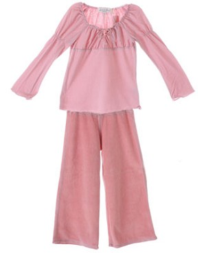 Luna Luna La Dolce Vita Pink Bella Blouse and Olga Pant Set