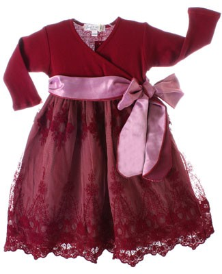 Luna Luna Burgundy Valentina Dress