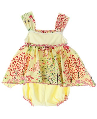 Luna Luna Yellow Joy 2pc Sun Suit