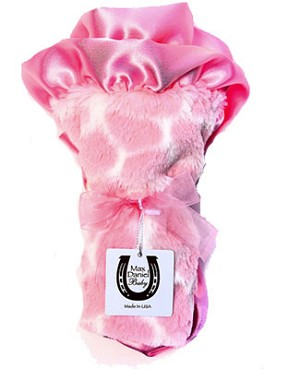 Z: Max Daniel *PINK GIRAFFE* Security Blanket - 17x17