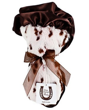 Z: Max Daniel *PINK SNOW LEOPARD* Security Blanket - 17x17