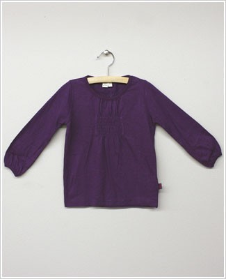 x: Me Too Amethyst L/S Smocked Shirt