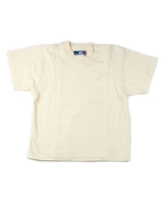 : Polichinelle Short Sleeve Cream Tee