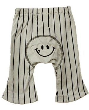 Japanese Monkey Pants Tan w/ Black Stripes Pants