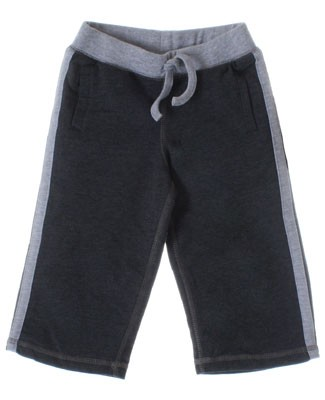 Mulberribush Charcoal French Terry Athletic Pant