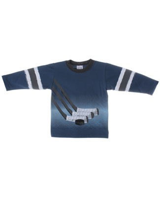 Mulberribush Blue Hockey Organic L/S Jersey Shirt