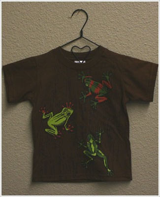 Mulberribush S/S Brown Tree Frog Tee