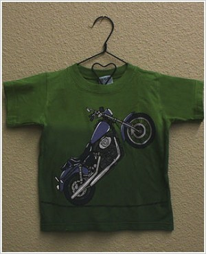 Mulberribush S/S Green Motorcycle Tee