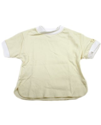 12m-18m : Ooh Baby S/S Cream & White T-Shirt