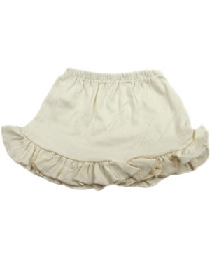 9m-18m: Ooh Baby Cream Ruffle Chic Skirt