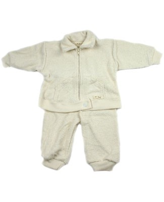 18m-24m: Ooh Baby Athlete in Training Zip-up Jacket w/ Waffle Cuffs & Pant Set