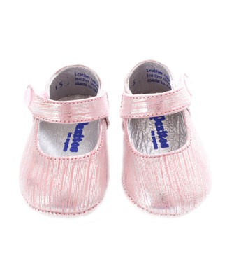 15 (0) Pazitos Pink Shimmer Mary Janes