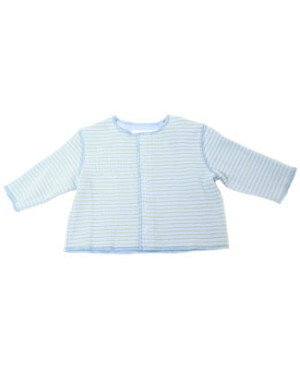 12m II: Pepper Toes Baby Surf Striped Jacket