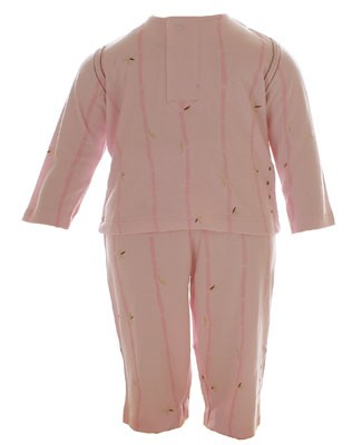 9m II: Petit Lem 2pc Pink Shirt and Pant Set