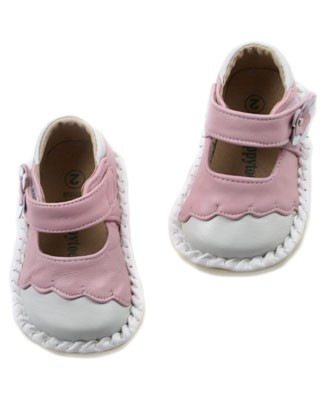 II: Rainbow Steps Pink/White Mary Janes *DARLING*