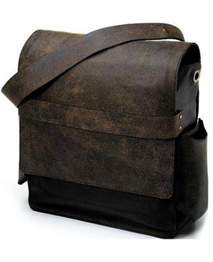 Z: Petunia Pickle Bottom SCOUT Rubicon Rucksack - Black Distressed Leather *Ships in May!*