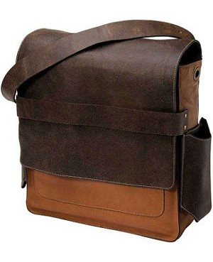 Z: Petunia Pickle Bottom SCOUT Rubicon Rucksack - Brown Distressed Leather *Ships in May!*