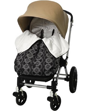 Z: Petunia Pickle Bottom *Glazed* Stroller Bunting Bag - Evening in Innsbruck