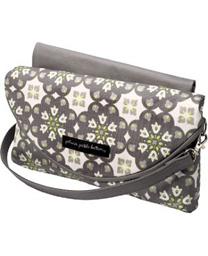 Z: Petunia Pickle Bottom Glazed Change-It-Up Clutch - Misted Marseille