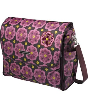 Z: Petunia Pickle Bottom Glazed Abundance Boxy Backpack - Bavarian Bliss
