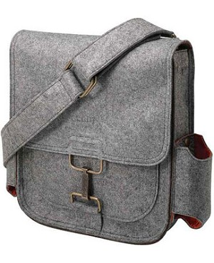 Z: Petunia Pickle Bottom Journey Pack Compact - Heathered Grey