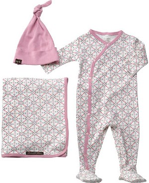 Z: Petunia Pickle Bottom Snuggle Set - GIRLS Garden Lattice