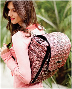Petunia Pickle Bottom Brocade Boxy Backpack - Sakura Roll