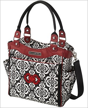 Petunia Pickle Bottom Glazed City Carryall - Frolicking in Fez