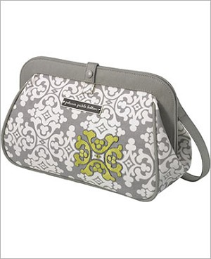 Petunia Pickle Bottom Glazed Cross Town Clutch - Breakfast in Berkshire