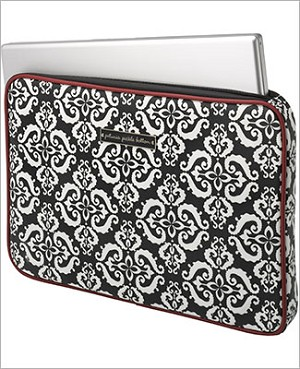 Petunia Pickle Bottom Carried Away Laptop Case - Frolicking in Fez