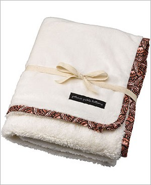 Petunia Pickle Bottom Receiving Blanket - Sakura Roll